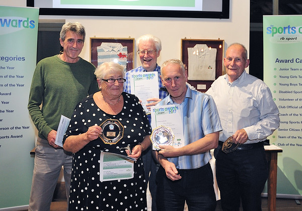Senior Citizens Sport Award